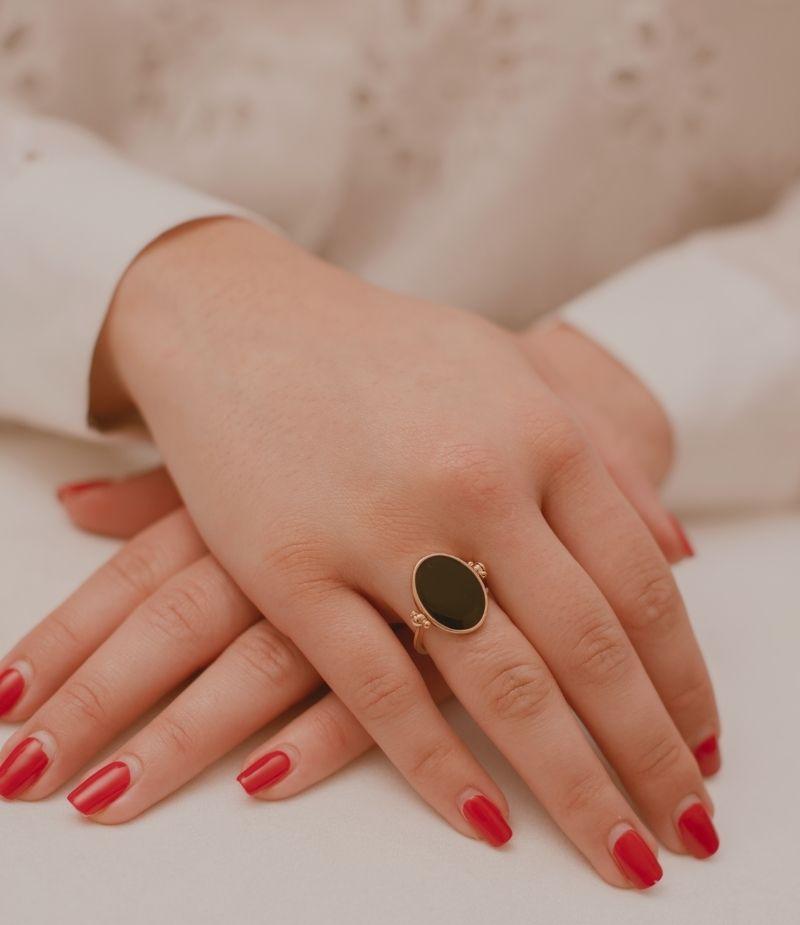 Bague Dorine / Bijoux en plaqué or 18 carats pour femme