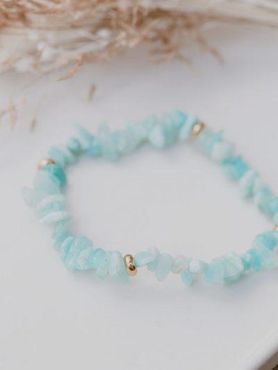Bracelet Amazonite vertus