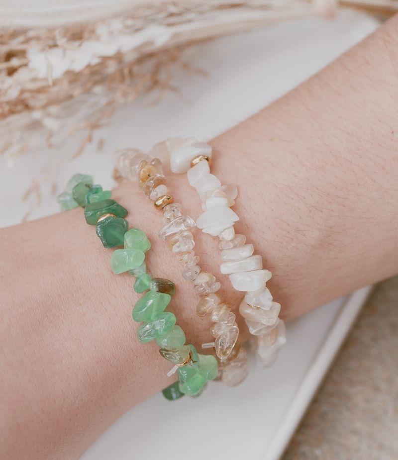 Bracelet Quartz Rutile vertus
